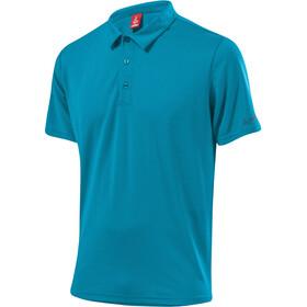 Löffler Tencel CF Poloshirt Men, enamel blue